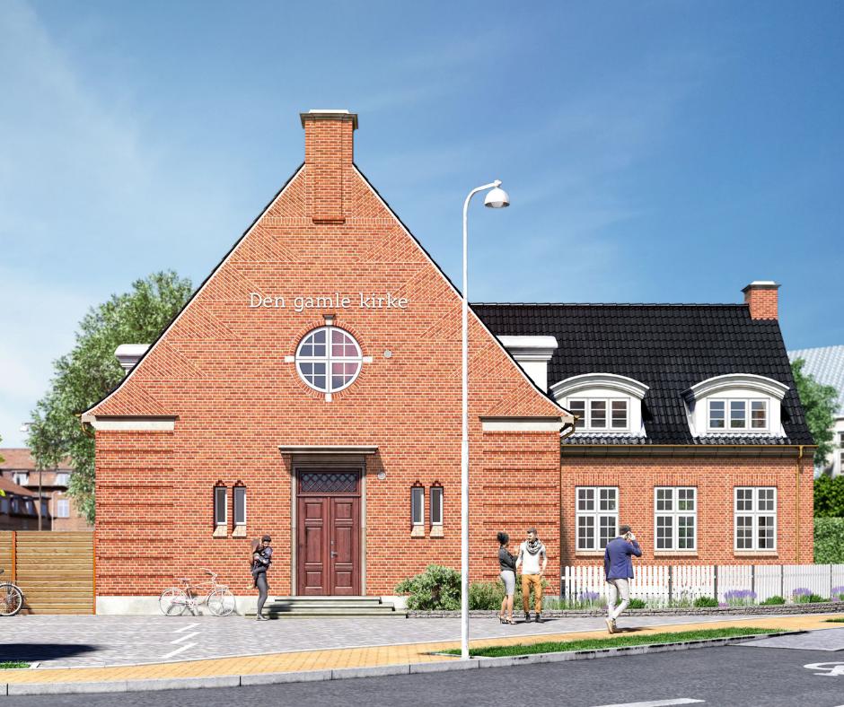 Renovering af ejendommen Den Gamle Kirke