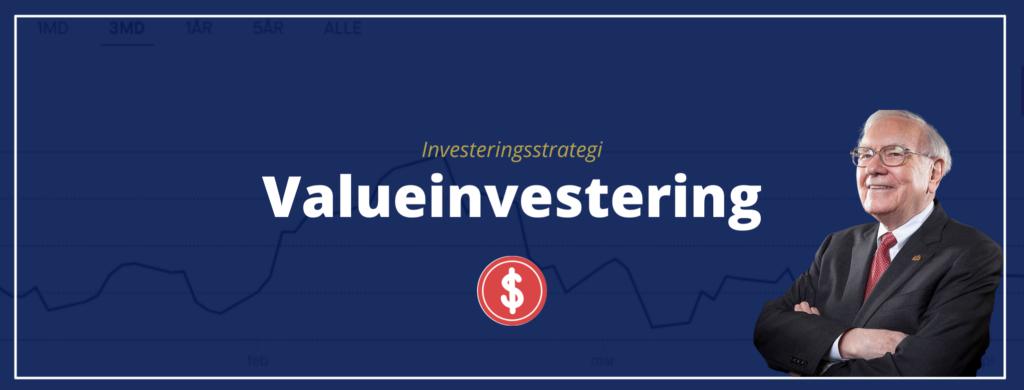 valueinvestering investeringsstrategi
