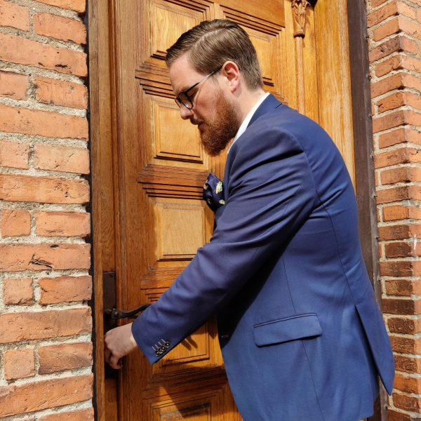 Morten og døren