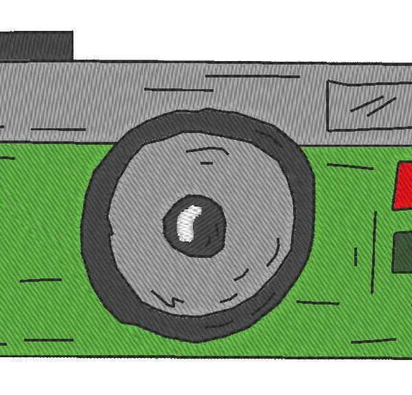appareil photo vintage 5 motif de broderie machine