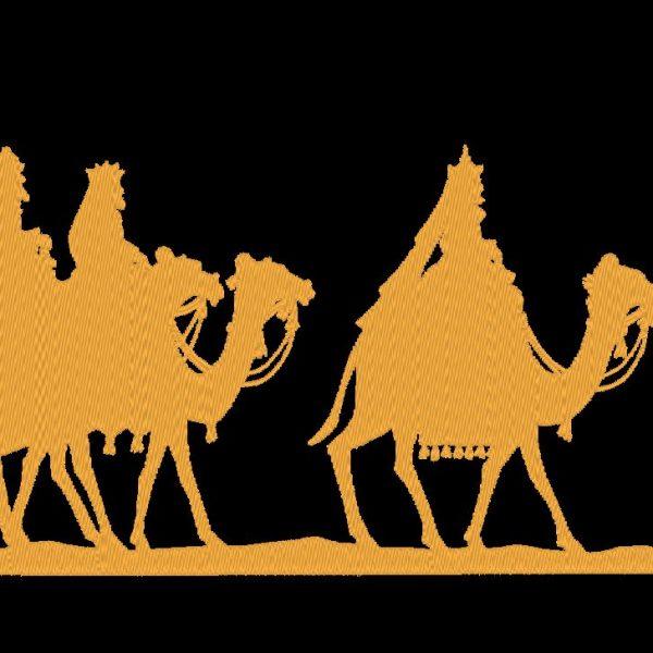 the three wise men machine embroidery design