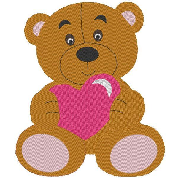 Teddy Teddy pattern embroidery machine