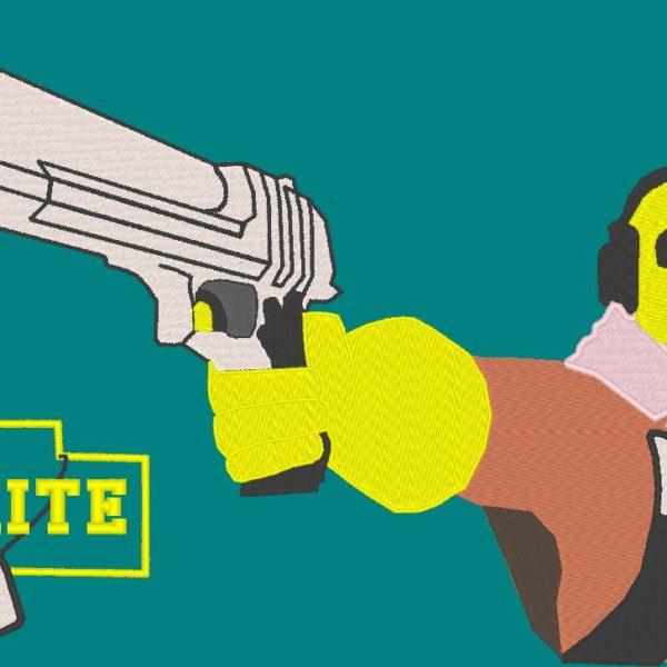 معركة رويال fornite تطريز نوع الألعاب آلة الفيديو
