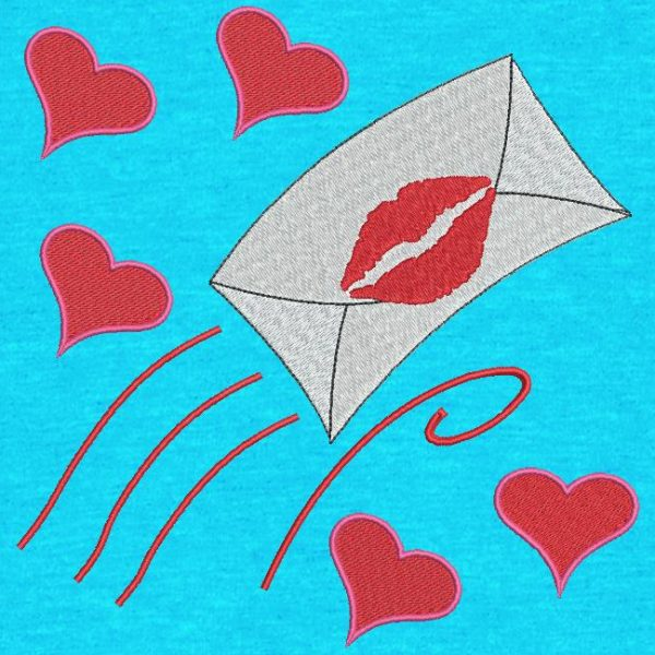love letter. Instant download machine embroidery design with love letter followed by hearts running towards Valentine's Day. frame 10 x 10/20 x 20/20 x 20. File formats PES, CSD, EXP, HUS, SHV, VIP, XXX, DST, PCS, JEF, VP3, EMB ... Instant download after payment.