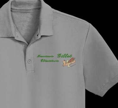 Logo cliente digitalizzazione falegnameria ebanisteria, logo design ricamo a macchina per aziende