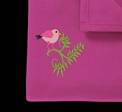 uccellino rosa