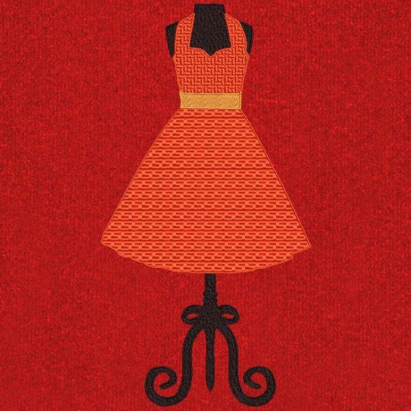 robe années 50
