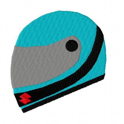 Full face motorcycle helmet, mechanical sport