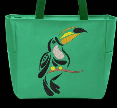 broderie toucan