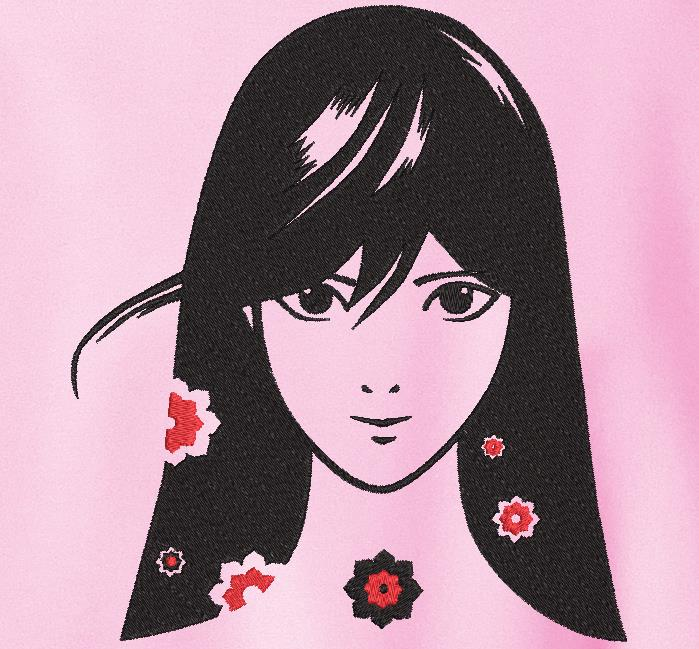 ragazza di fiore
