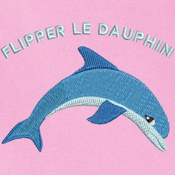 asustar al delfín