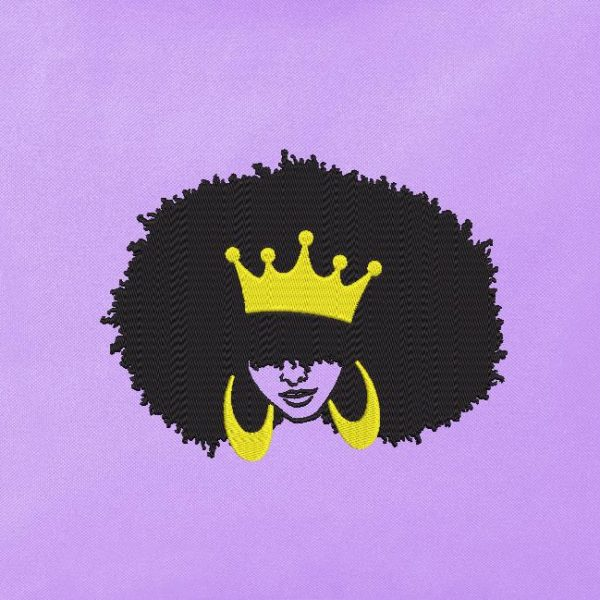 mujer afro retro vintage 3