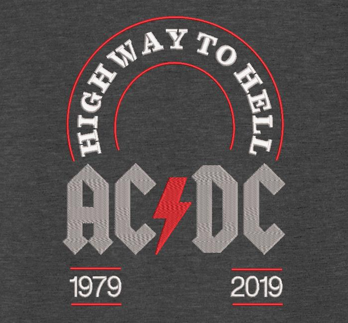 ACDC highway to hell.