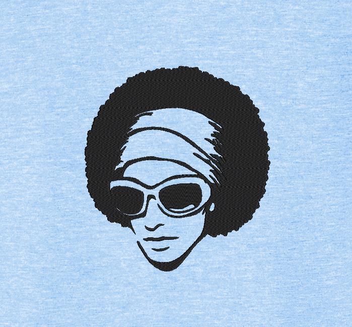 امرأة أفريقية الرجعية خمر 4