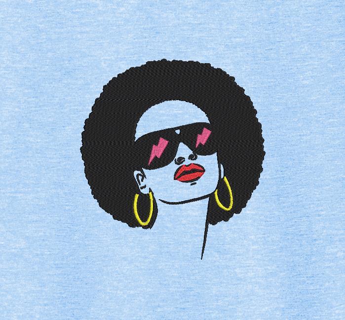 امرأة أفريقية الرجعية خمر 6