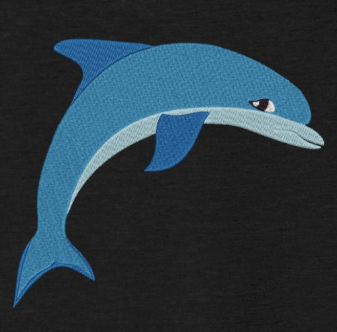 bonito delfín