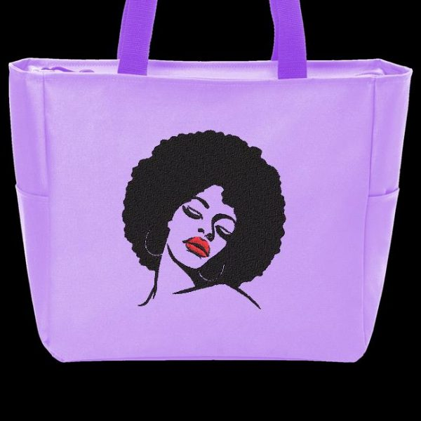 mujer afro retro vintage 5