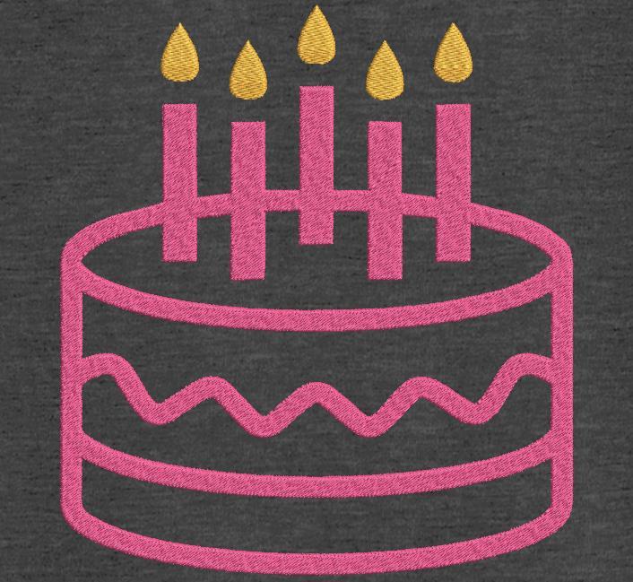 gâteau d'anniversaire 10
