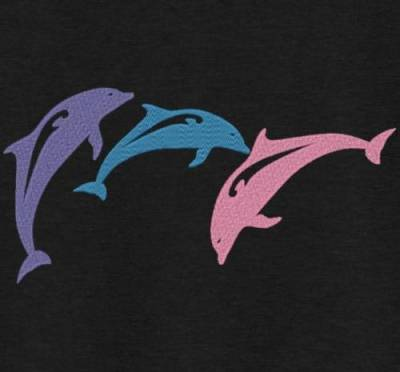 trio de dauphins
