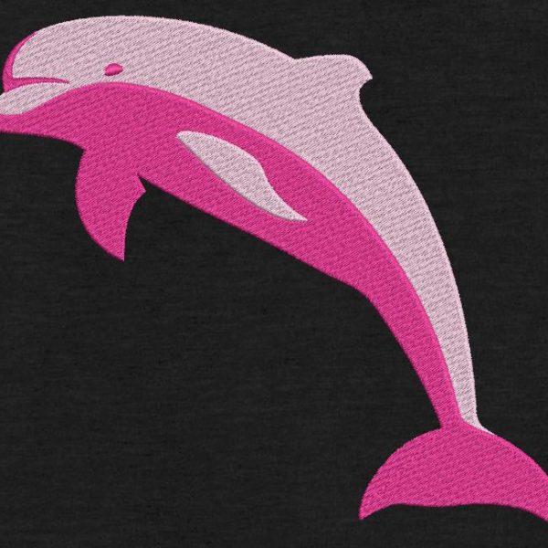 delfín rosado