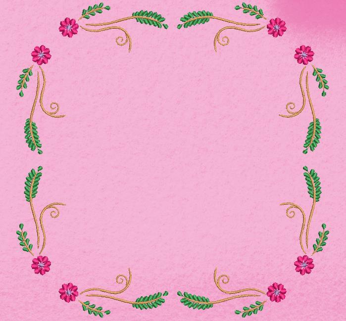 cornice floreale arabesca 1
