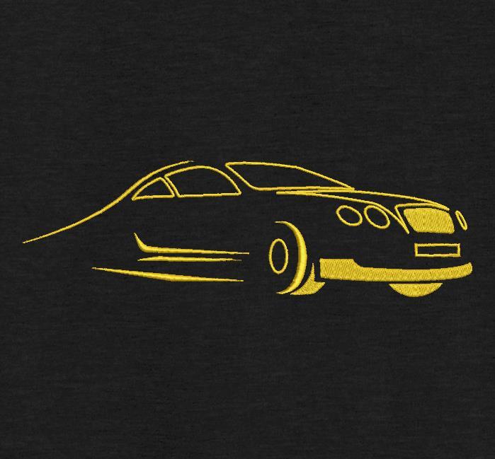silhouette de voiture