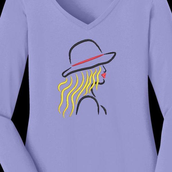 elegante con un sombrero 1
