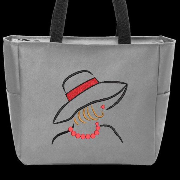 élégante avec un chapeau 2