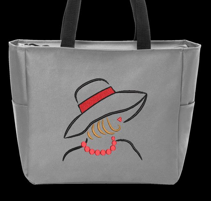 elegante con un sombrero 2