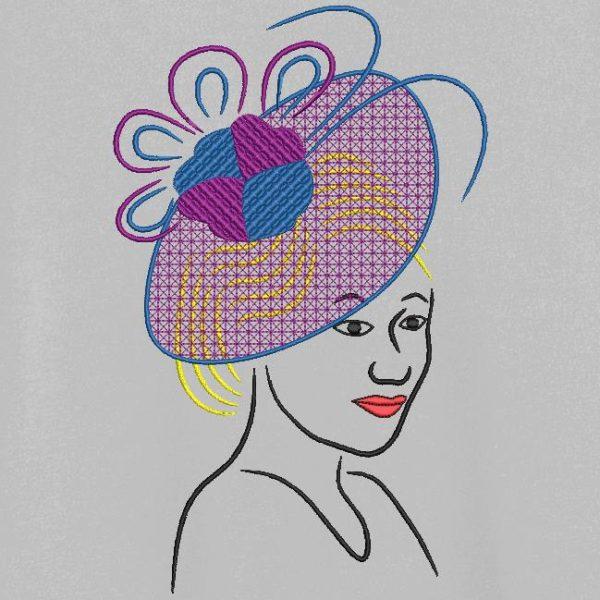 élégante avec un chapeau 4