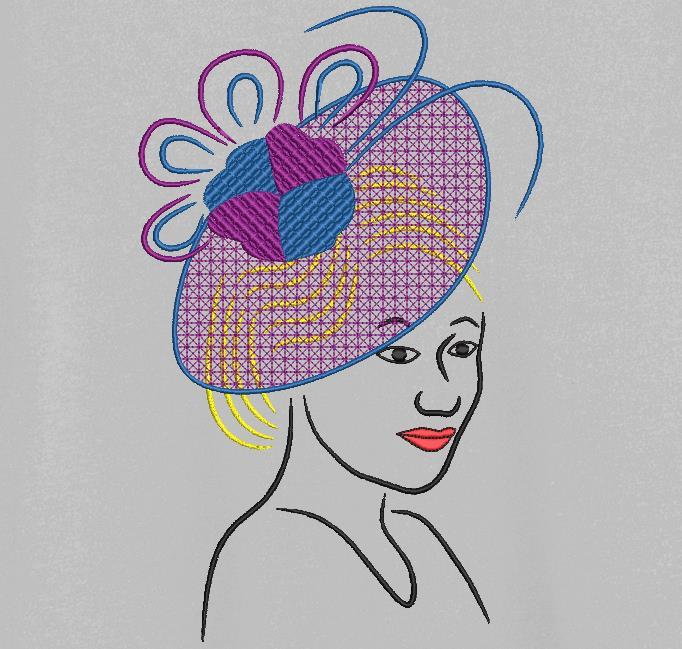 elegante con un sombrero 4