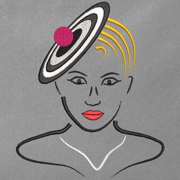 élégante avec un chapeau 5