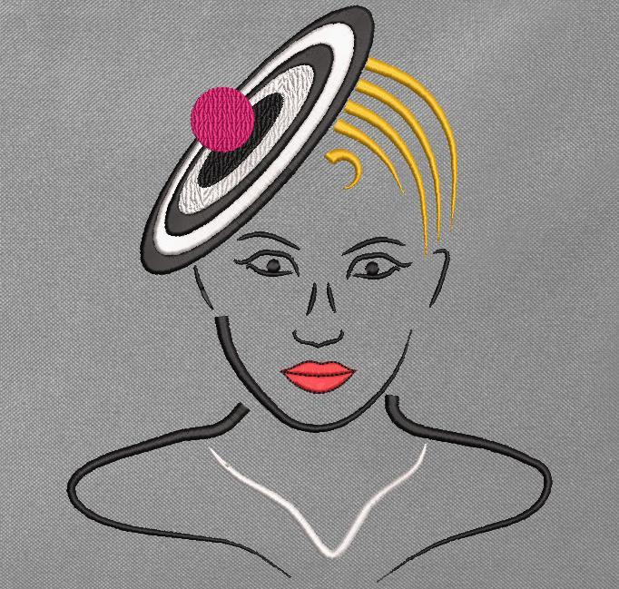 elegante con un sombrero 5