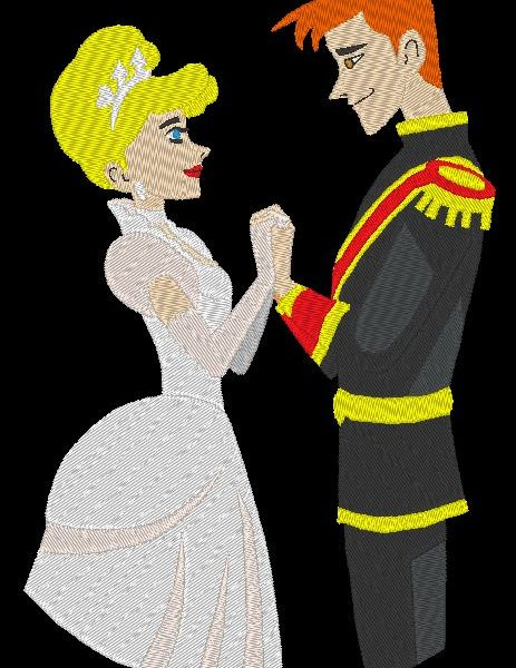 belle princesse et prince