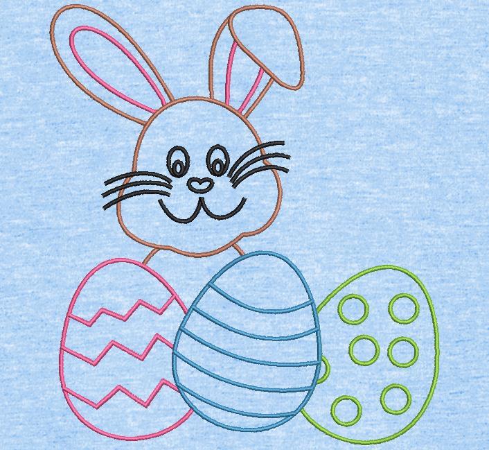 إعادة عمل أرنب عيد الفصح والبيض