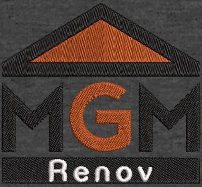 Digitalização do logotipo do cliente MGM renov