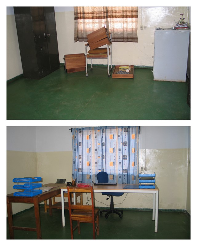 MBA office Before and After July 2007