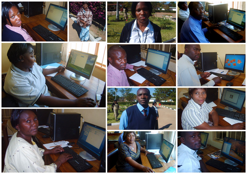 COMPUTER TRAINING MBA Development project - one of two groups that participated