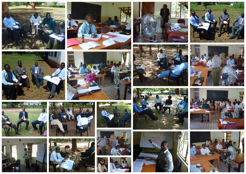 Development project Leadership Training modules Nov 2007 and Feb 2008 with teachers from Corat.