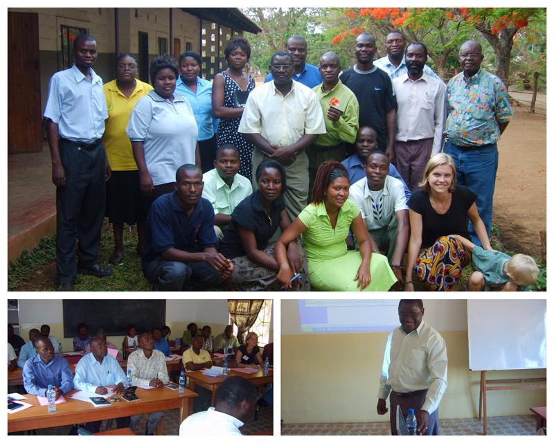 Development Project HR Leadership Training with teacher Guy Chingole