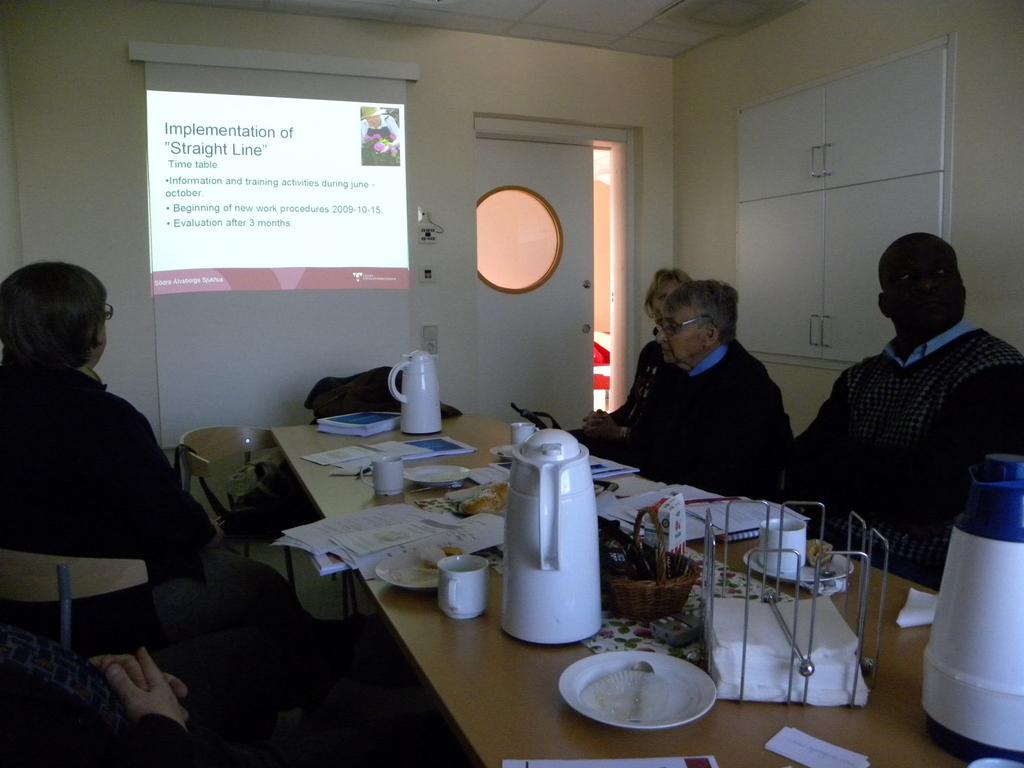 Southern Alvsborg Hospital presentation on Process development