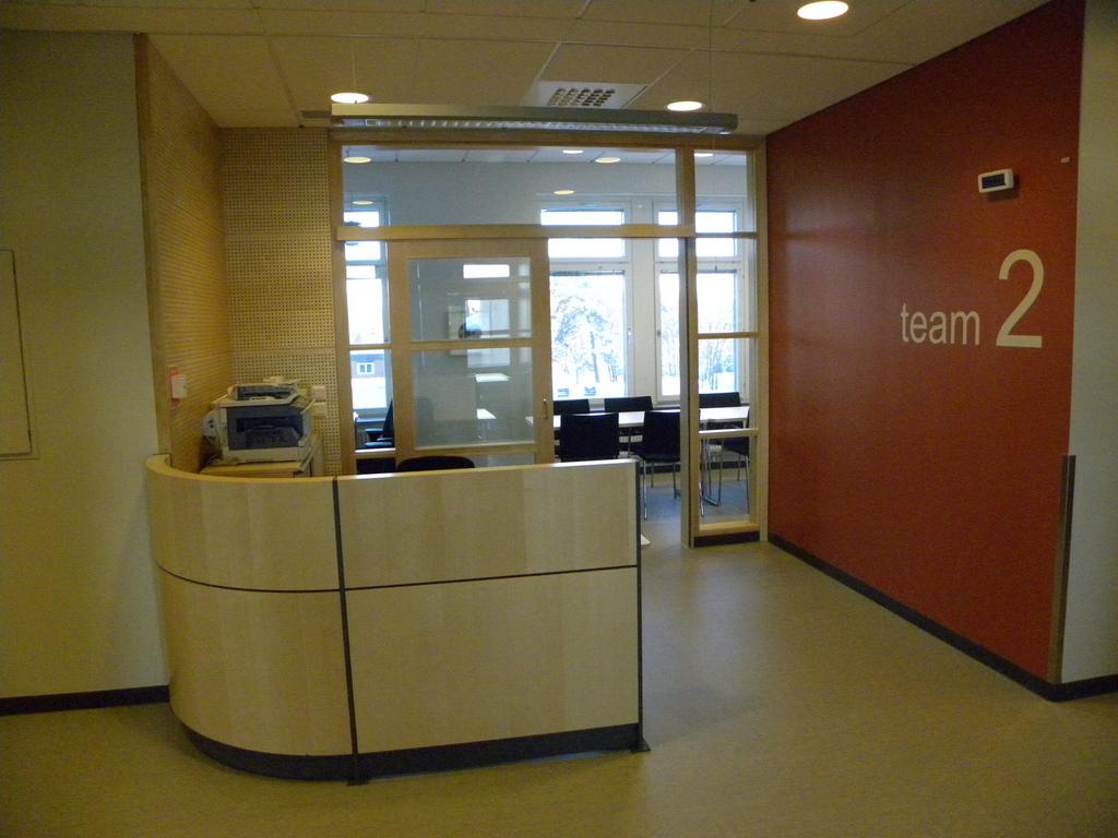 Southern Alvsborg Hospital new wards team control centre