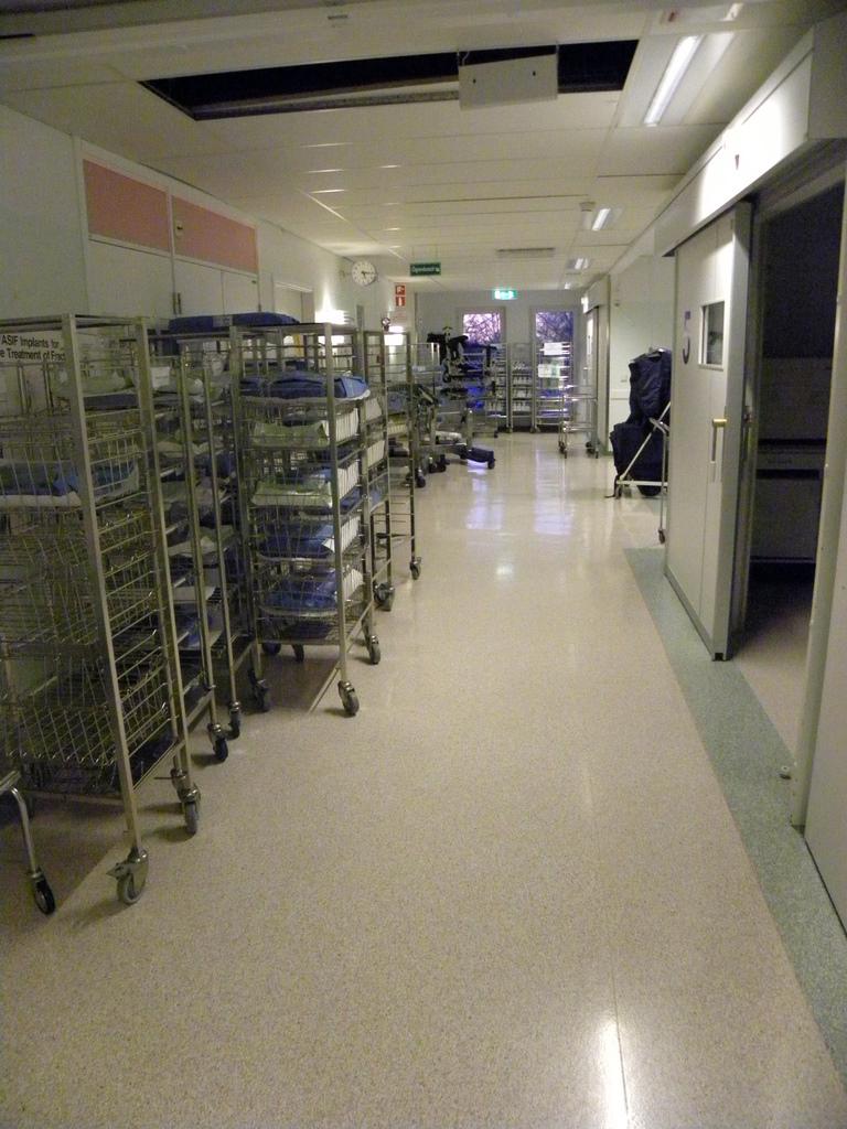 Southern Alvsborg Hospital Operation tour