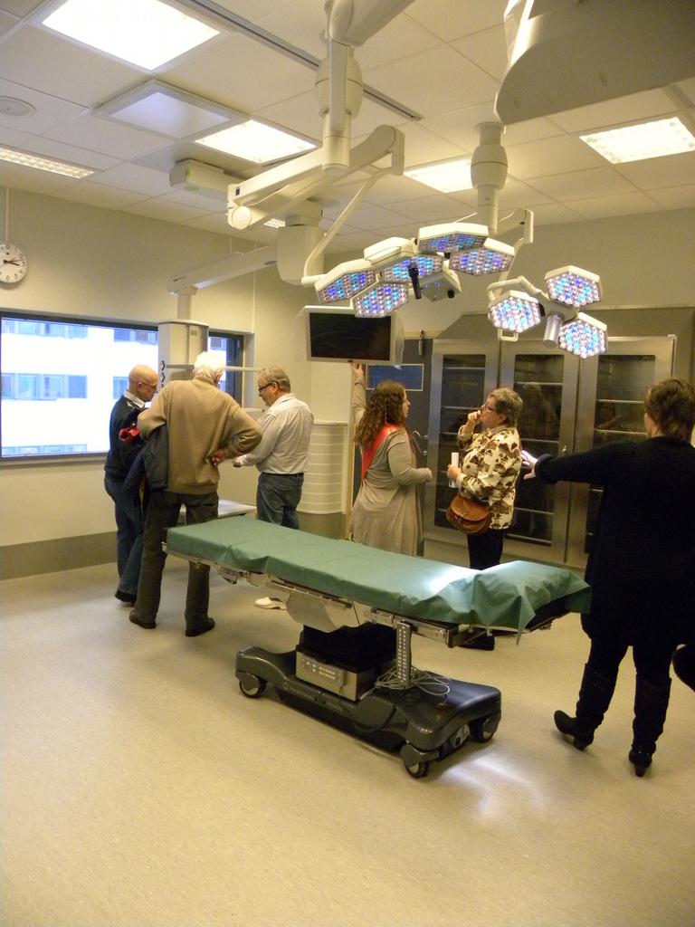 Southern Alvsborg Hospital Tour of new T-house Day Surgury