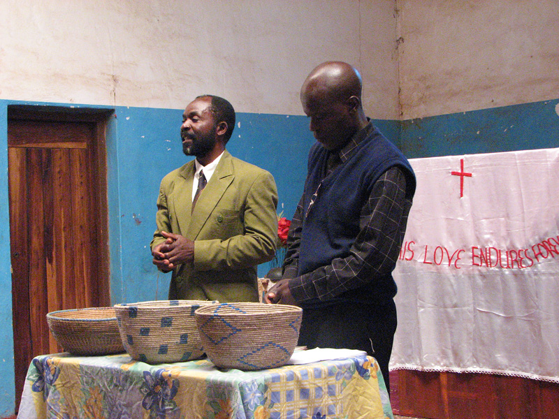 MBA-Interact Handover Ceremony August 2007 Church Service Pastor Makule
