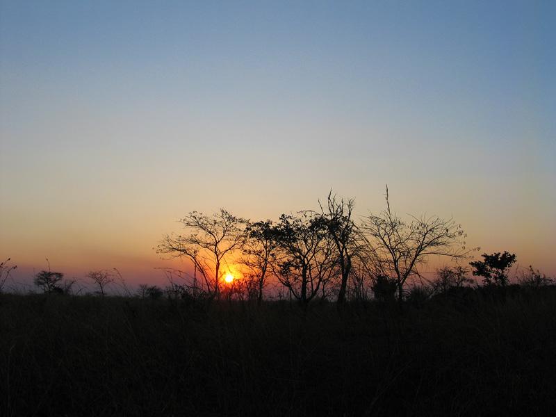 Mpongwe District Sunset Photo Copyright Kathleen Paulsson