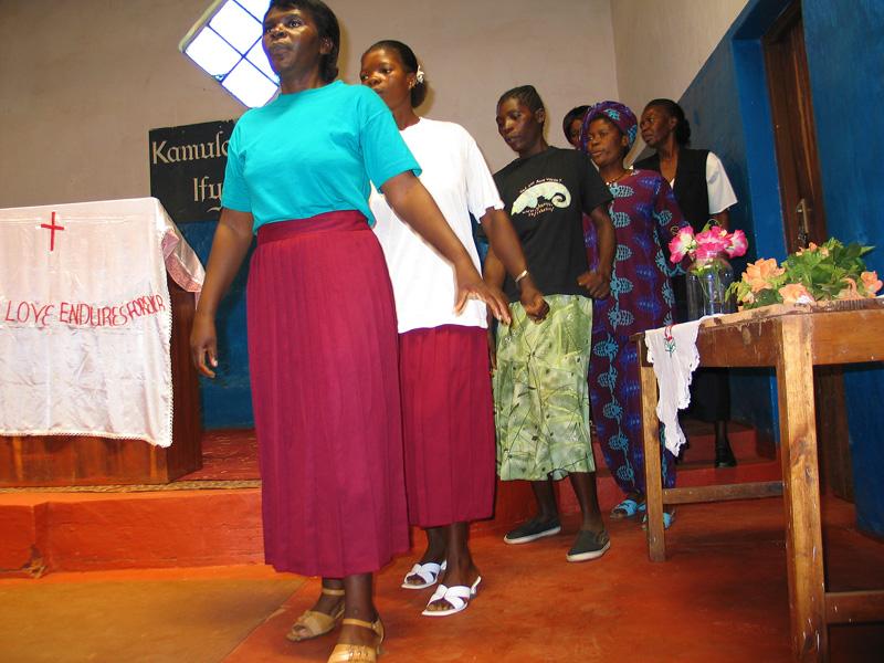 Mpongwe Baptist Church Choir
