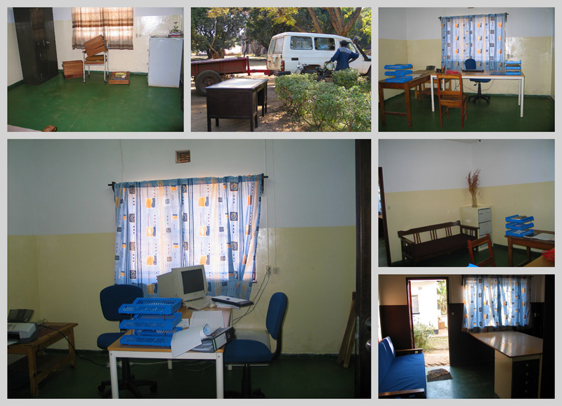 Development Project MBA Offices Before and After July 2007