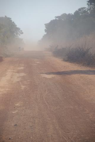 Rural road Mpongwe District Photo Copyright Matt Roe