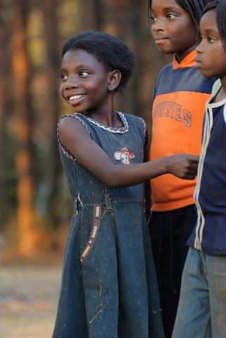 Mpongwe kids Photo Copyright Matt Roe